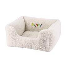 Nobby ležišče oval Comfort Puppy, belo - 45x40x18cm