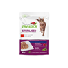 Natural Trainer Cat Sterilised, vrečka - govedina - 85 g 85 g