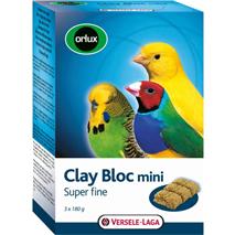 Versele-Laga Orlux Clay Bloc Amazon River mini glineni kamen - 3 x 180 g