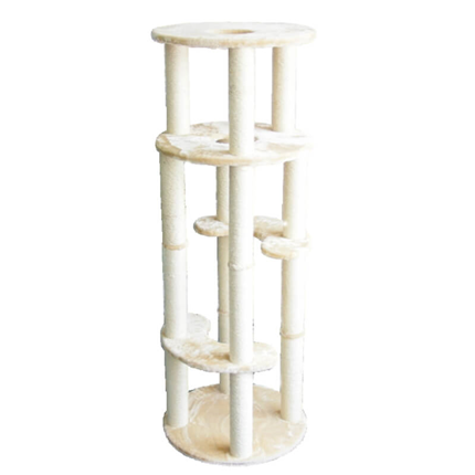 Pawise praskalnik The Columns, bež - 60 x 60 x 170 cm