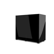 Aquael omarica Glossy 120, črna - 120 x 40 x 70 cm