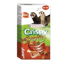 Versele-Laga Snack Crispy Toasties Vegetable piščanec in govedina - 150 g