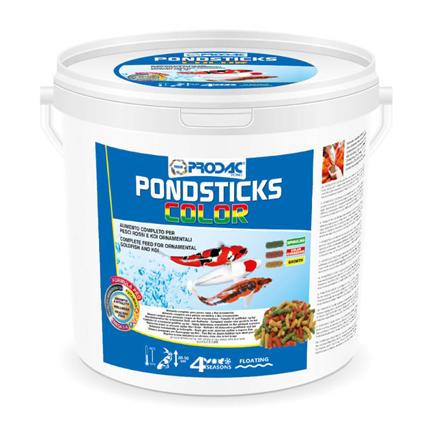 Prodac Pondsticks Color, barvne palčke - 4 kg