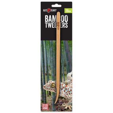 Repti Planet pinceta iz bambusa - 28 cm