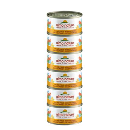 Almo Nature HFC Natural Megapack – piščančja bedrca – 6x70 g