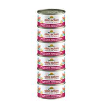 Almo Nature HFC Natural Megapack – piščanec in jetrca – 6x70 g
