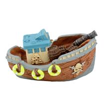 Aquatlantis akv. dekor piratski čoln - 12x8x8,5cm