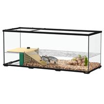 Aquatlantis terarij kit Turtle, črn - 120 x 45 x 48cm