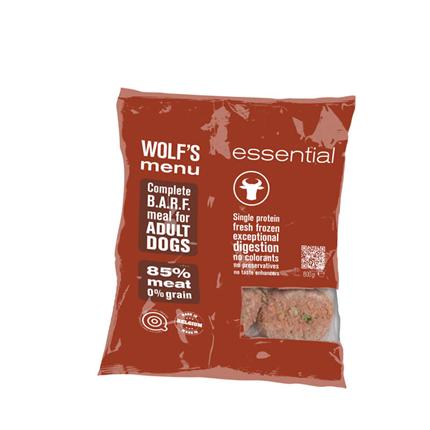 Wolf's Menu Mono Essential - govedina - 800 g