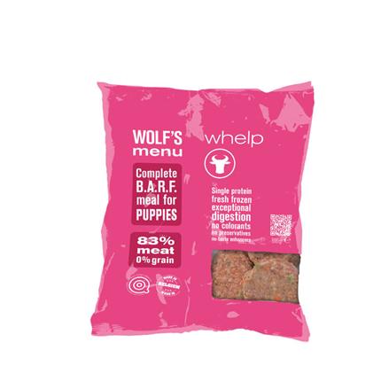 Wolf's Menu Mono Whelp - govedina - 800 g