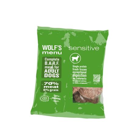 Wolf's Menu Mono Sensitive - jagnjetina - 800 g