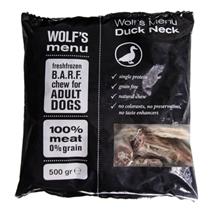 Wolf's Menu mesnate žvečljivke - račji vratovi - 500 g