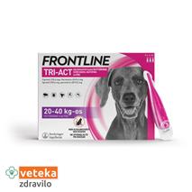 Frontline Tri-Act za pse, 20-40 kg - 3 ampule