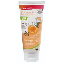 Beaphar BIO šampon in balzam 2 v 1 - 200 ml