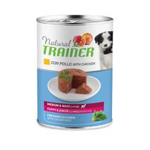 Natural Trainer Medium/Maxi Puppy/Junior - piščanec