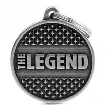 My Family identifikacijski obesek Bronx The Legend, velik krog - GRAVIRANJE GRATIS!