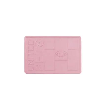 United Pets podloga za posode guma, pink - 44,8 x 30 cm