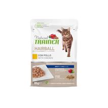 Natural Trainer Cat Hairball, vrečka - piščanec - 85 g