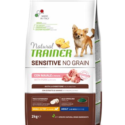 Natural Trainer Sensitive No Grain Adult Mini - svinjina