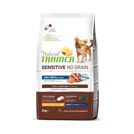 Natural Trainer Sensitive No Grain Adult Mini - postrv
