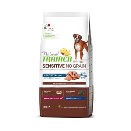 Natural Trainer Sensitive No Grain Adult Medium/Maxi - postrv