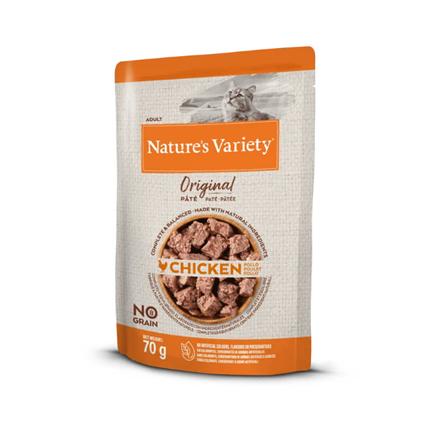 Nature's Variety Original Cat Adult - piščanec - 70 g