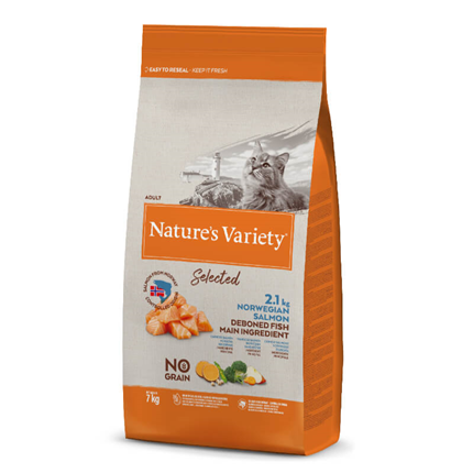 Nature's Variety Selected Cat Adult - norveški losos