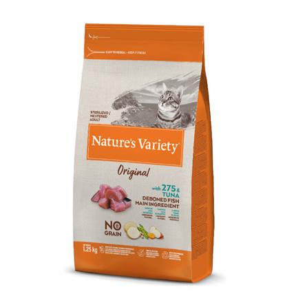 Nature's Variety Original No Grain Cat Sterilized - tuna
