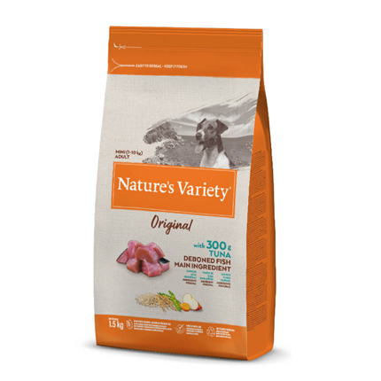 Nature's Variety Original Dog Mini Adult - tuna