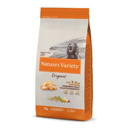 Nature's Variety Original Dog Med/Maxi Adult - piščanec