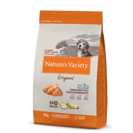 Nature's Variety Original No grain Dog Junior - losos