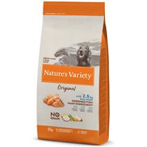 Nature's Variety Original No grain Dog Med/Maxi Adult - losos