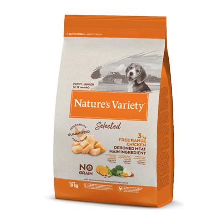 Nature's Variety Selected Dog Junior - piščanec iz proste reje