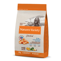Nature's Variety Selected Dog Med/Maxi Adult - norveški losos