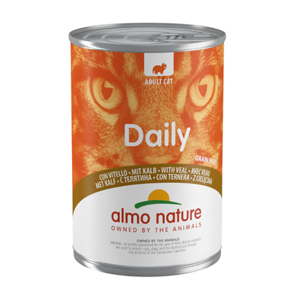 Almo Nature Daily konzerva - teletina - 400 g
