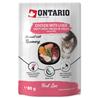 Ontario Kitten Herb Line vrečka - piščanec in jetra - 80 g 80 g