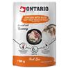 Ontario Cat Herb Line vrečka - piščanec, raca, riž, rožmarin - 80 g 80 g
