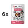 Ontario Kitten Herb Line vrečka - piščanec in jetra - 80 g 6 x 80 g