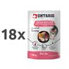 Ontario Kitten Herb Line vrečka - piščanec in jetra - 80 g 18 x 80 g