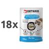 Ontario Cat Herb Line vrečka - piščanec in skuša - 80 g 18 x 80 g