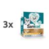 Sanicat posip Active Gold z vonjem argana 3 x 6 l