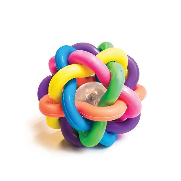 Nobby prepletena žoga z lučko - 5 cm