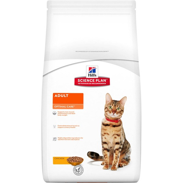 Hill's Adult Optimal Care - piščanec - 5 kg