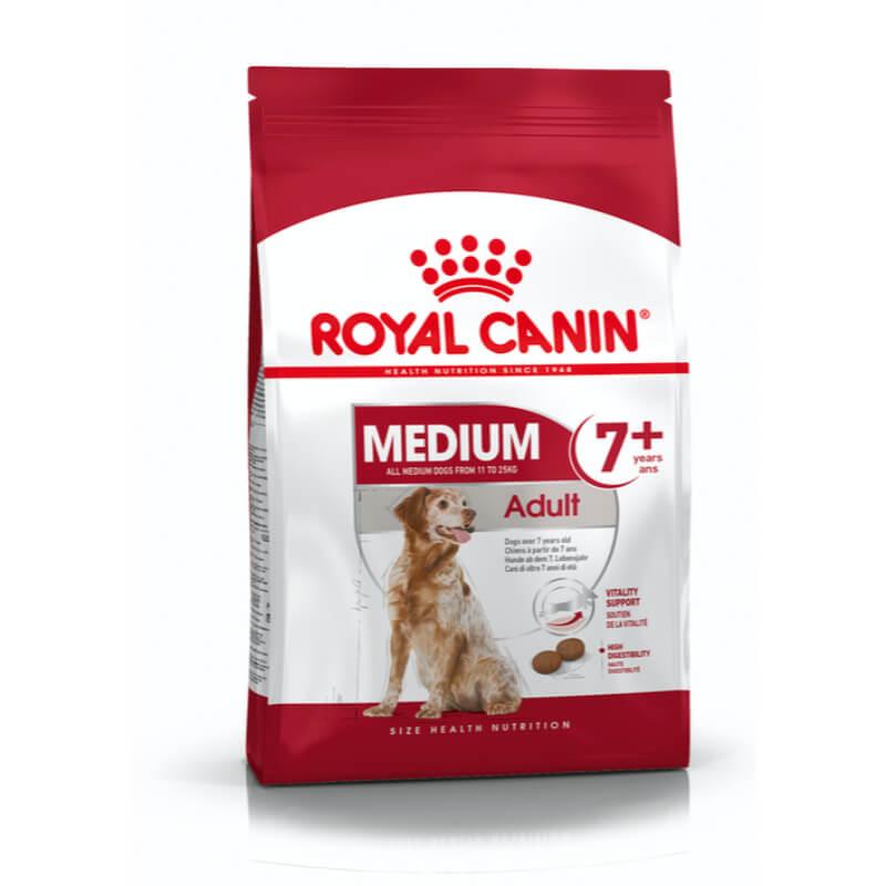 Royal Canin Senior Medium - perutnina - 4 kg