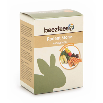 Beeztees kamen z zelenjavo za glodavce - 160 g