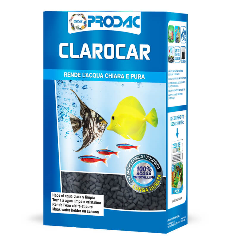 Prodac Clarocar briketi oglje - 300 g