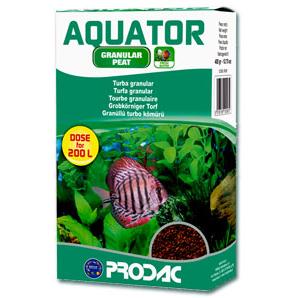 Prodac Aquator granulirana šota - 400 g