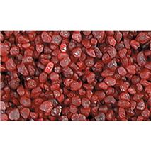 Prodac akvarijski pesek, rdeč - 2-3 mm / 1 kg