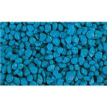 Prodac akvarijski pesek, svetlo moder - 2-3 mm / 1 kg