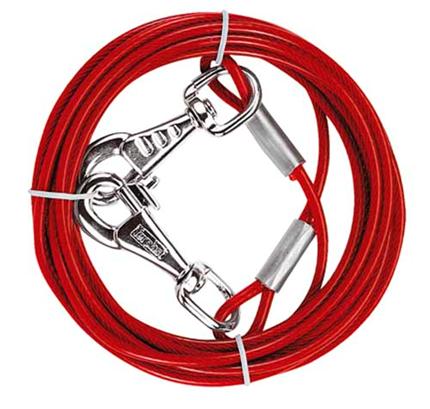 Ferplast jeklena vrv za privez - 4 m